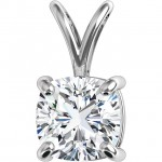 Grace Cushion Pendant by DIAMELIA