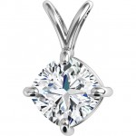 Joelle Cushion Pendant by DIAMELIA