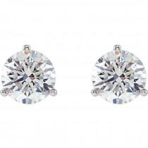 Genuine DIAMELIA® Studs in Martini Settings