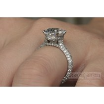 """Nest of Diamonds"" - Custom Engagement Rings"